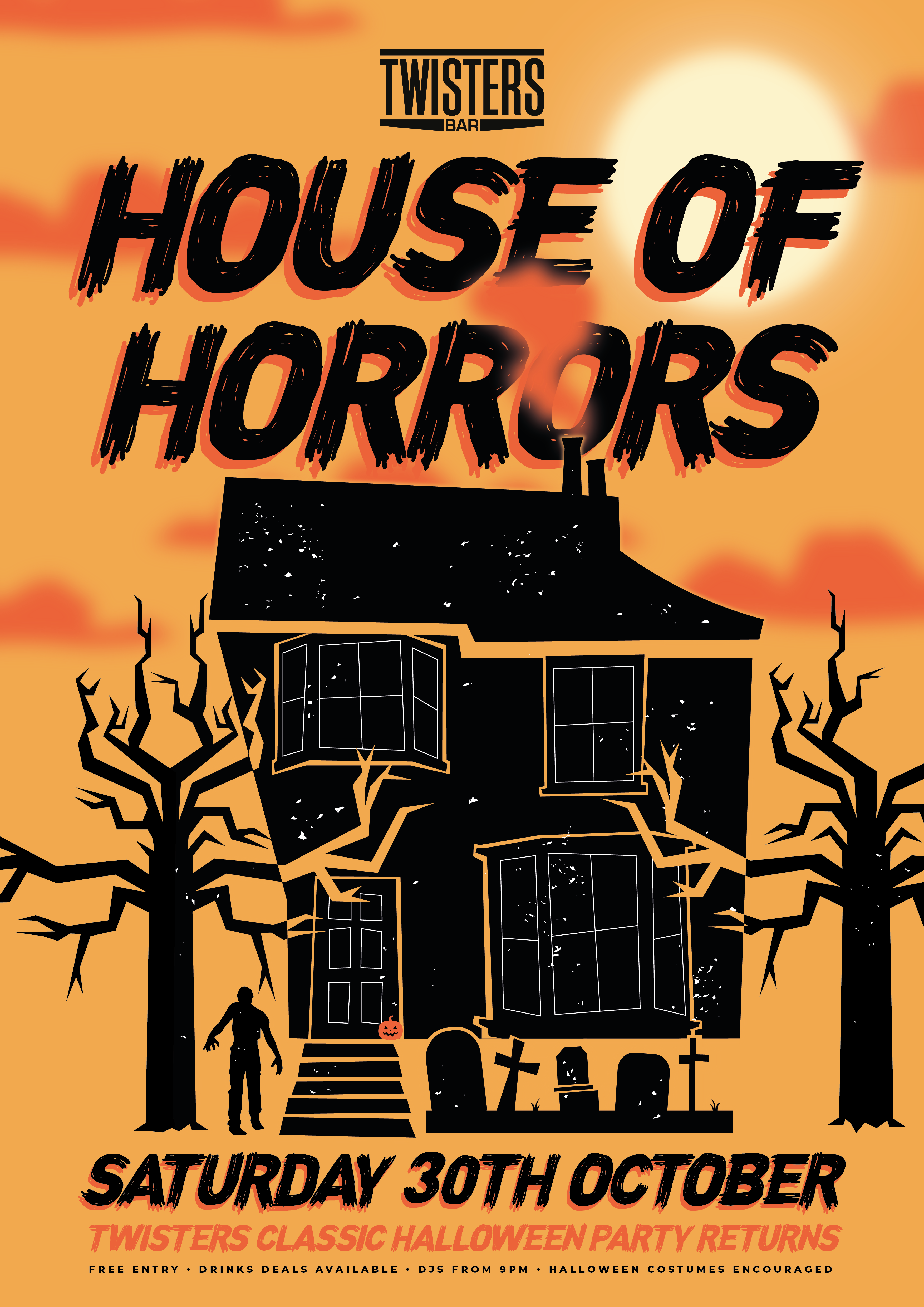Twisters House of Horrors